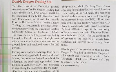 Local Business Initiatives Double Dragon Trading Ltd